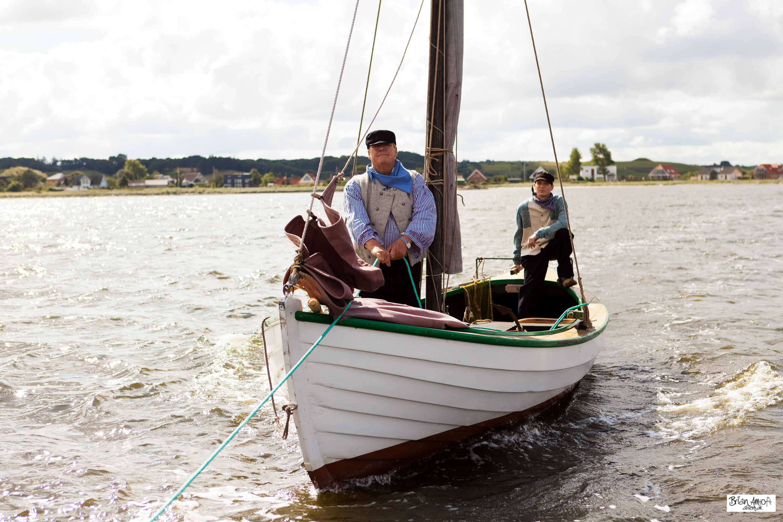 På fiskeri